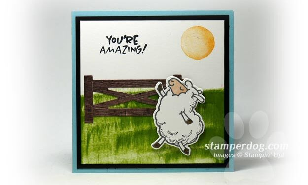 How to Put Grass on a Greeting Card