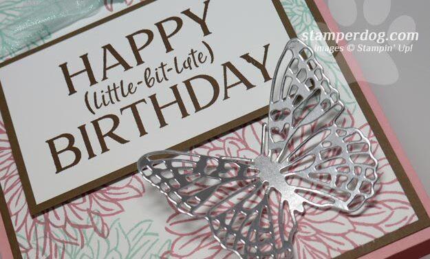 Happy Half Birthday to Ann