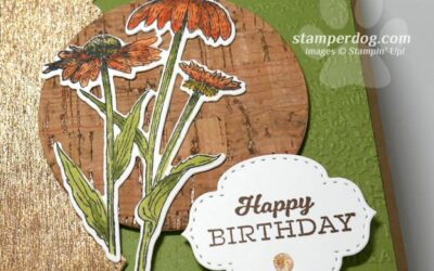 Birthday Card Made from Scraps