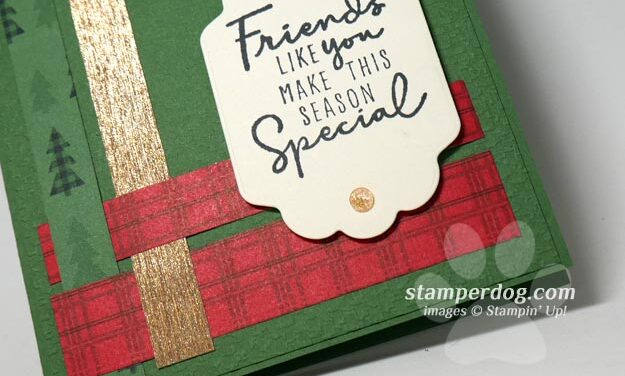 Make a Christmas Card from Scraps