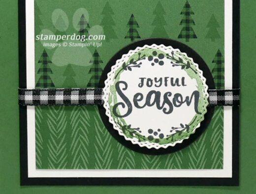 Sneak Peek Christmas Card