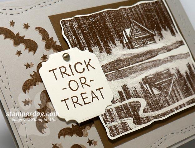 Uncommon Spooky Halloween Card