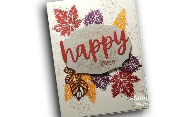 Fall Birthday Card