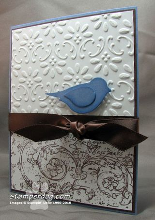 Cecil's Blue Bird of Happiness Card