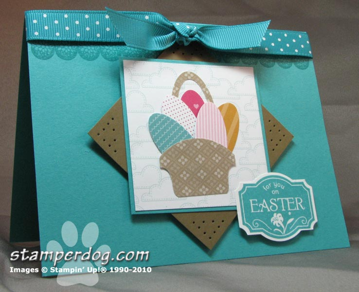 Easter Card Sale-A-Bration Style