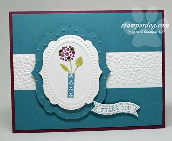 Gorgeous Grunge card
