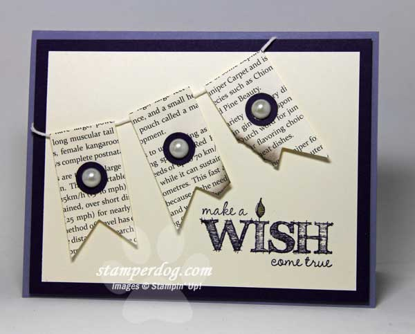 Make A Birthday Wish Stampin Up Demonstrator Ann M Clemmer