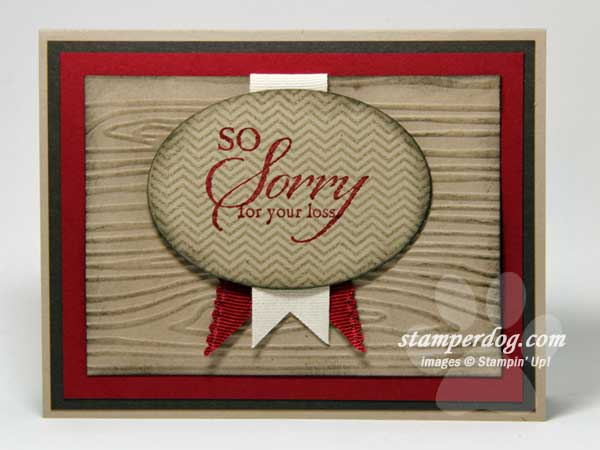 So Sorry Stamp Set